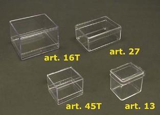 Scatole plastica trasparente - Sicher