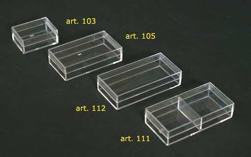 Scatole plastica trasparente rettangolari sicher for Fioriere rettangolari in plastica