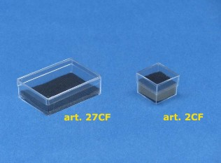 Scatole plastica con feltrino with scatole plastica - Scatole ikea trasparenti ...